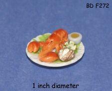 LOBSTER DINNER Dollhouse Miniature Food Sweets Dessert 1:12 Scale