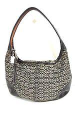 COACH handbags Shoulder bag small Black Canvas Round  *1008