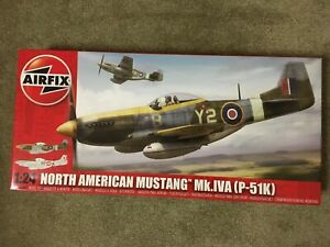 AIRFIX A14003A. NORTH AMERICAN MUSTANG MK.IVA (P-51K) 1:24 Large Scale.