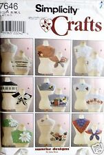 Collar Scarf Sewing Pattern 7646 Simplicity Crafts 9 Style Options Size S M L