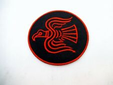 Viking Odin Raven Flag Iron On Patch Symbol Protection Rune Wiccan Pagan Norse