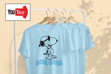 QUALITY Snoopy Retro Joe Cool Tribute Mens Unisex Birthday gift tshirt t-shirt