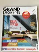 UK Grand Designs C4 Magazine Homes August 2010 Building Abroad Modern Gardens +