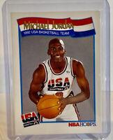 🔥MICHAEL JORDAN 1991 NBA HOOPS #579 USA DREAM TEAM / Possible PSA10 Bulls GOAT