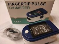 Saturimetro da dito - ossimetro, misuratore saturazione ossigeno / Consegna 48h