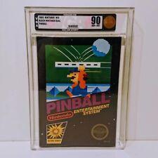 Pinball Nes Nintendo Sealed Graded VGA 90