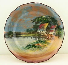 Vintage Royal Doulton Series Ware Plate Bowl Dish D4340 Country Scenes