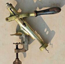 """EDWARDIAN GRAND FLACON Cork Remover """"Le don"""" 1910 = 1920 BAR matériel"""
