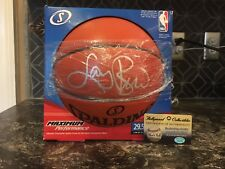 Larry Bird Autographed Spalding Ball - Hologram COA Hollywood Collectibles