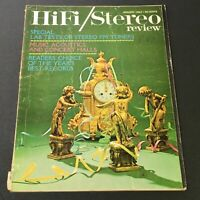 VTG HiFi Stereo Review Magazine January 1963 - Music Acoustics and Concert Halls