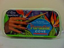 EzFlow Boogie Nights PARADISE COVE 6 Tropical Glitter Acrylic Powder Kit 60228.
