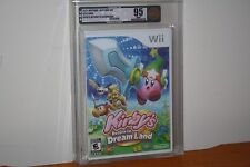 Kirby's Return to Dream Land (Nintendo Wii) NEW SEALED MINT GOLD VGA U95, RARE!