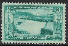 Scott 1009- Grand Coulee Dam Reclamation- MNH 3c 1952- unused mint