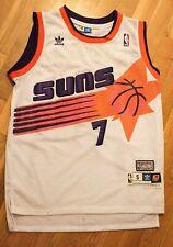 Kevin Johnson Phoenix Suns Adidas Hardwood Classics Jersey Small White NBA