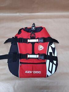 Ezydog Life Jacket Dog Float Coat Buoyancy Aid Size Medium Grab Handle Brand New