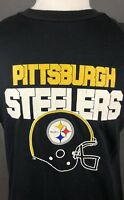 Pittsburgh Steelers T-Shirt XL Vintage 80s Single Stitch USA NFL Football LP