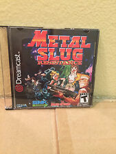 Metal Slug Resistance Sega Dreamcast Game.