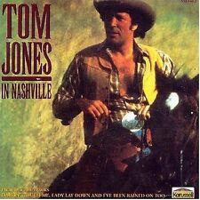 TOM JONES IN NASHVILLE CD RARE 1980'S RECORDINGS BEST AMERICAN SINGLES COUNTRY