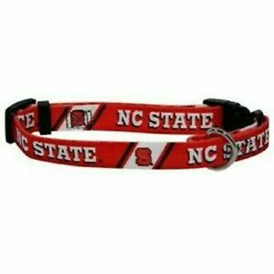 North Carolina STATE WOLFPACK NCAA DOG LEAD (ALL SIZES) RED ~NEW~