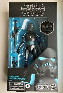 """Star Wars The Black Series Shadow Stormtrooper Gaming Greats 6"""" Action Figure"""