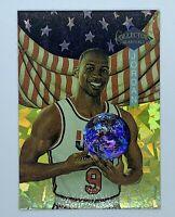1990 MICHAEL JORDAN COLLECTOR'S QUARTERLY PROTOTYPE CARD #3 U.S. OLYMPICS
