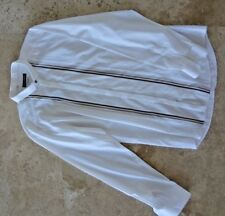 $599 Auth DOLCE & GABBANA Man White COTTON Slim FIT Woven SHIRT Size 17/ 43