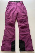 Maier Sports Purple Ski Snowboard Pants Size 38 / US 8 READ