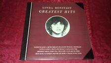 Linda Ronstadt - Greatest Hits [Asylum] (1975 UK LP Ex. Vinyl A1/B1)