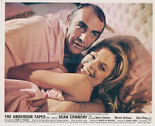 THE ANDERSON TAPES COMPLETE SET OF 8 BRITISH 8X10S SEAN CONNERY DYAN CANNON 1971