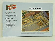 "Walthers/Cornerstone Ho U/A ""Stock Yard"" Plastic Model Kit #933-3047"