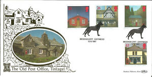 22 Carat Gold Benham Official First Day Cover 1997 Old Post Office Tintagel G186
