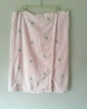 Classic Elements womens size XL pink  beach/spa/pool towel wrap adjustable