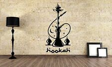 Wall Vinyl Sticker Decal Focus Room Decor Interior Hookah Bar Bong Kalian VY478