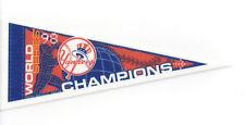 "1998 New York Yankees World Series Champs 9"" pennant NY Champions Derek Jeter"