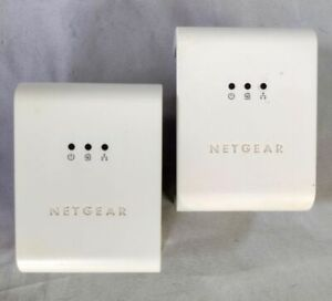 Netgear XET1001 Wall Plugged Ethernet Adapter 85 Mbps (Pair)