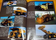 200 years of Construction machinery book heavy equipment construction #0203