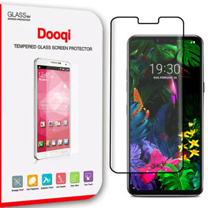 Dooqi For LG G8 ThinQ Full Coverage 3D Curved Tempered Glass Screen Protector