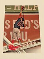2017 Topps Baseball #161 - Mookie Betts - Boston Red Sox
