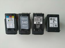 More details for empty ink cartridges x 4 for canon and hp inkjet printers *empty*