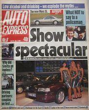 Auto Express magazine 28/10/1988 Issue 6 featuring Alfa Romeo, Honda