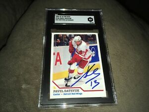 Pavel Datsyuk Detroit Red Wings Sports Illustrated For Kids Card SGC Certified