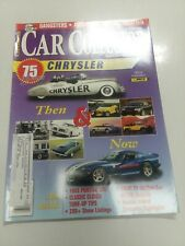 Car Collector AUGUST 1999  65 PONTIAC GTO 70,71 CHRYSLER FIAT 124 SPORT COUPE