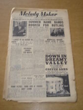 MELODY MAKER 1948 FEBRUARY 28 LOUIS ARMSTRONG GERALDO ERIC WINSTONE +