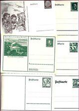 Briefmarken DR, Ganzs.  47 Postkarten aus P242-P291a ungebraucht