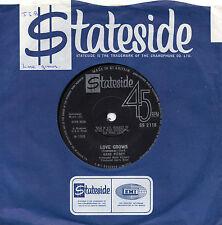 Gene Pitney amor crece * conquistador 1968 Reino Unido Stateside 45