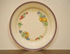 "1 Corelle ABUNDANCE 9"" LUNCH Salad PLATE Fruit Harvest *Sandstone Flat Rim NEW"