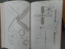 LE MECANICIEN ANGLAIS, 1829, 4 VOL. + ATLAS 95 PLANCHES, NICHOLSON, EX LIBRIS