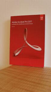 Adobe Acrobat Pro 2017 Windows, französisch, mit Orginal-DVD
