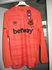 BNWT WEST HAM GOALKEEPER TOP ICONIC FAREWELL BOLEYN UPTON PARK SEASON SZ M
