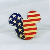 Disney Pin 7562 DVC - Mickey Flag USA